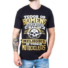 camiseta todos os homens nascem motociclistas preta 2806 3