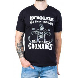 camiseta motociclistas nao ficam grisalhos 100 algodao 2770 3