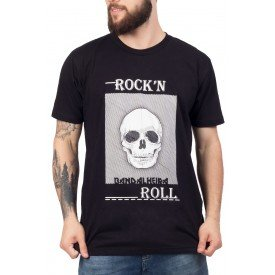 2875 caveira bandalheira rock n roll 100 algodao 1