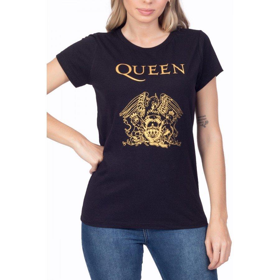 t shirt feminina queen logo 3