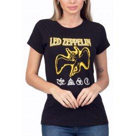 t shirt feminina led zeppelin anjo amarelo 3