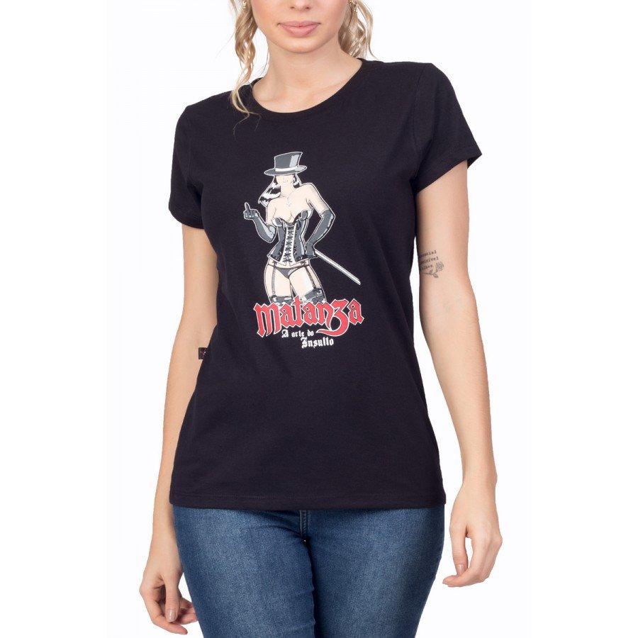 t shirt feminina matanza a arte do insulto 1