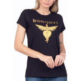 t shirt feminina bon jovi greatest hits 3
