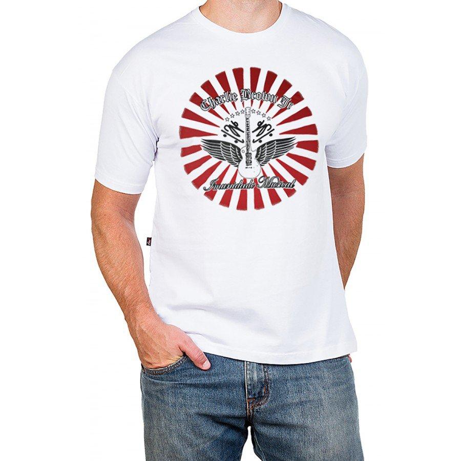 127 m pr camiseta charlie brown jr imunidade musical com estampa 1