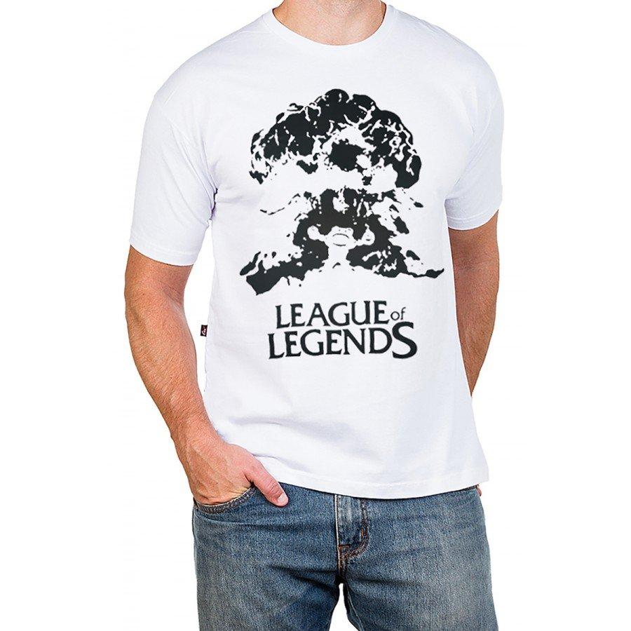 2794 m pr camiseta league of legends lol ziggs gola redonda 1