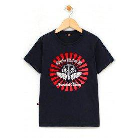in515 u pr camiseta infantil charlie brown jr imunidade musical preta