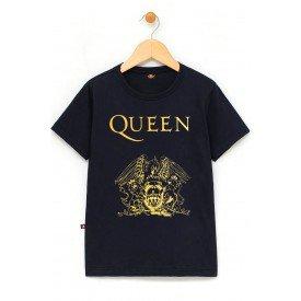 in549 u pr camiseta infantil queen logo 100 algodao